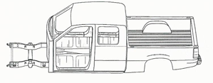 Extended Cab Truck